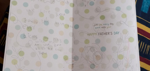 Father's Day card 2011 by Duy