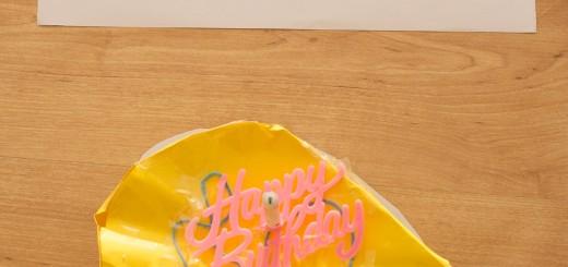 Bánh sinh nhật Duy An làm cho mẹ